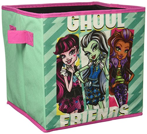 Mattel Monster High 2 Pack Storage Cubes Multicolor (Monster Cube)