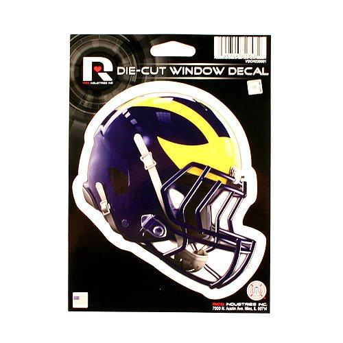 University of Michigan Wolverines Football Helmet Decal Sticker