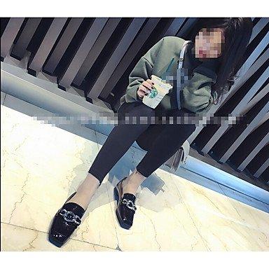 Cómodo y elegante soporte de zapatos de tacón para mujer otros piel sintética al aire libre negro verde gris burdeos negro