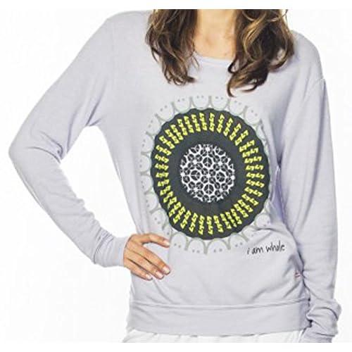 Peace Love World Comfy Raglan Oversized I Am Whole Sweatshirt Outlet