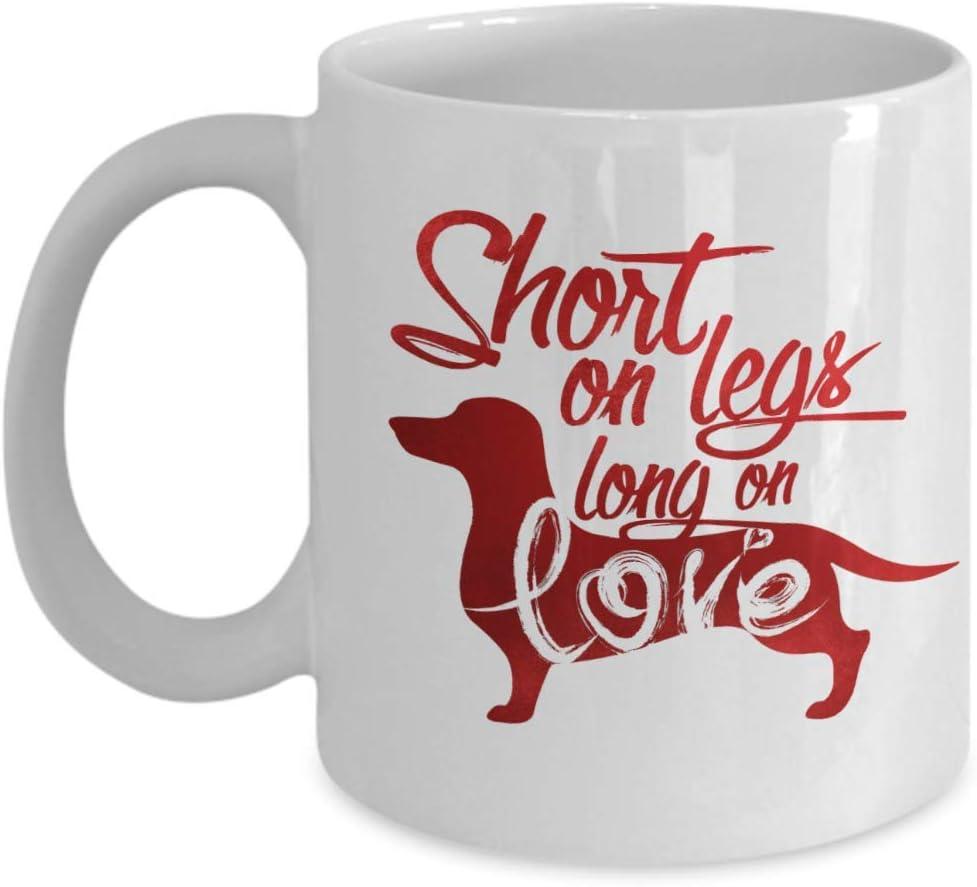 Amazon Com Dachshund Short On Legs Long On Love Mug Funny Dachshund Mug For Women Dachshund Coffee Mug For Mom Sweet Dachshund Mom Mug Dachshund Love Quotes Mug Best Dachshund Gifts Mug For