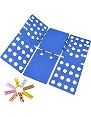 Geniusidea V1 Shirt Folding Board t Shirts Clothes Folder Durable Plastic Laundry folders Folding Boards