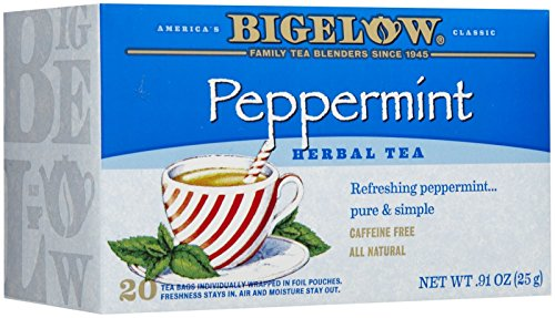 Bigelow Peppermint Tea Bags - 20 ct