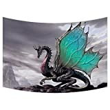 Custom Ancient Dragon Pattern Tapestry Wall Hanging,Wall Art, Dorm Decor,Wall Tapestries Size 40x60 inches