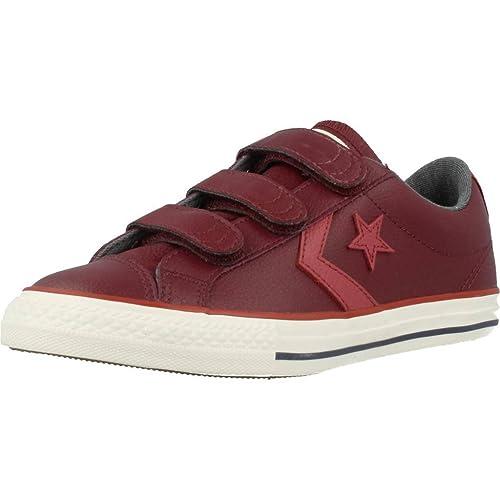 Converse Zapatillas Star Player Ev 3V OX Granate: Amazon.es: Zapatos y complementos
