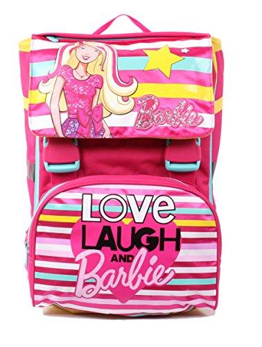 Seven Barbie 216001604-310 Zaino Sdoppiabile, Estensibile, 28 litri, Poliestere, Multicolore