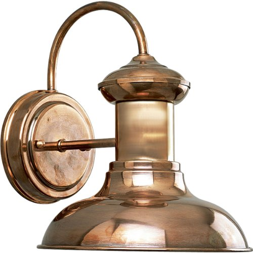 Copper Lantern Patio Lights - 1