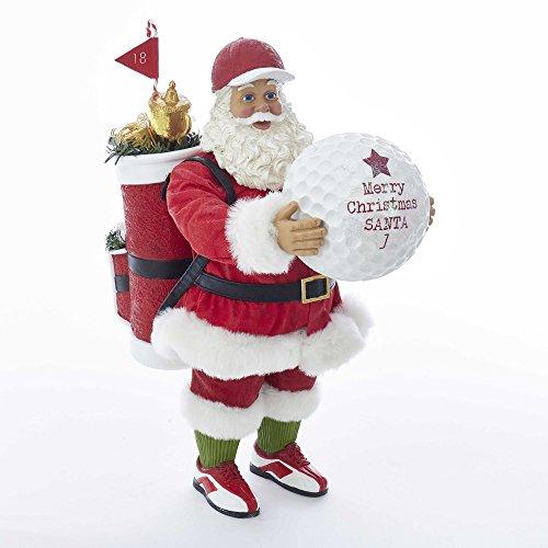 Kurt S. Adler 11 Santa with Golf Ball Figure