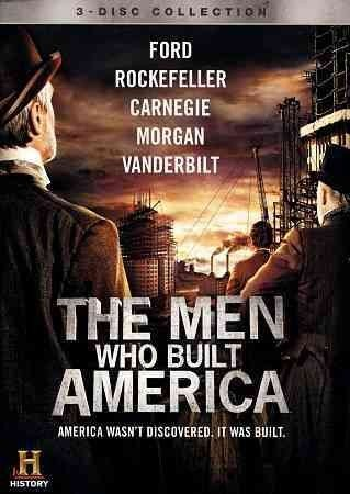 MEN WHO BUILT AMERICA(3DISC) MEN WHO BUILT AMERICA(3DISC)