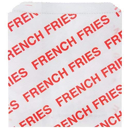 French Fry Bags 50 Each - French Mcdonalds Fries