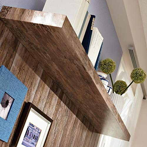 d-c-fix 346-0478 Decorative Self-Adhesive Film, Rustic Wood, 17 x 78 Roll