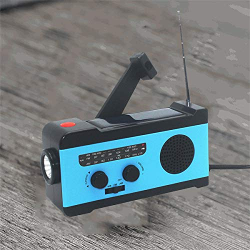 VOSAREA Portable Radio FM Receiver Emergency Radio with Alarm Clock FM Radio FM Receiver by VOSAREA (Image #8)