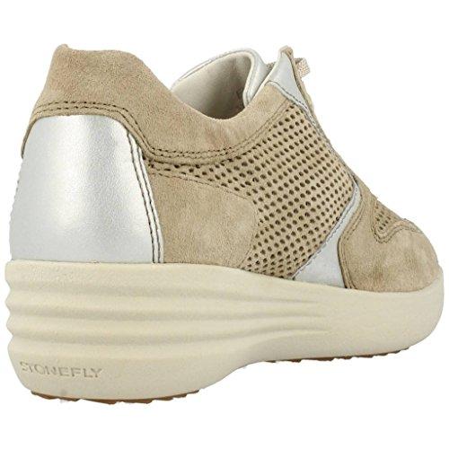 Stonefly Femme Confort D'espadrille De Lacets Jeans Brun 106215 q31 Chaussures Clair rpwP1qxrg