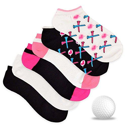 TeeHee Womens Socks 6 Pairs Assorted product image