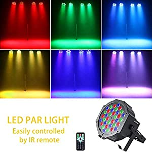 51S6sw AsqL. SS300  - UKING-PAR-Licht-mit-Fernbedienung-36-LED-Scheinwerfer-Bhnenbeleuchtung-DMX512-RGBW-Lichteffekt-Partylicht-mit-Fernbedienung