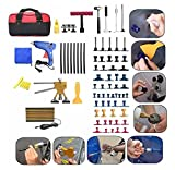 MD Group Car Body Paintless Dent Repair Tool Kit Lifter Puller Hail Removal Glue PDR Pulling Tabs Set 73Pcs