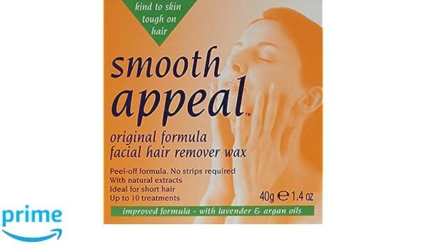 Recurso suave original facial 40g Cera depiladora: Amazon.es ...