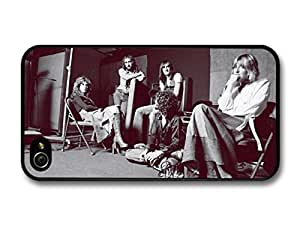 Fleetwood Mac Vintage Band Ppopularoshoot Sitting on Chairs For Samsung Galaxy S5 Mini Case Cover