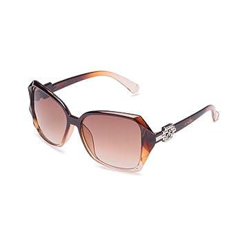Generic Sonnenbrille Farbe Braun Retro Big Box Goggle für Frauen 9JpIdnj