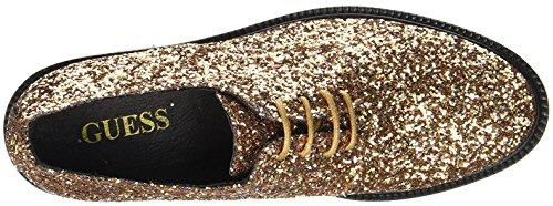 Guess Zapatos de Zapatos Cordones Guess Cordones de Dorado qFExxwH5d