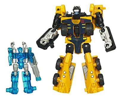 Transformers Power Core Action Figure 2Pack Huffer with Caliburst