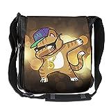 Cat Cap Hip Hop Casual Unisex Messenger Bag