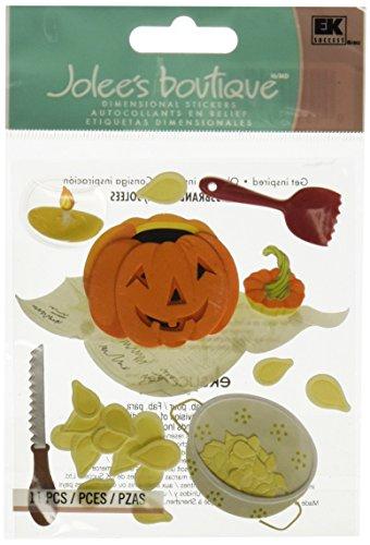 EK Success Jolee's Boutique Dimensional Stickers - Pumpkin Carving