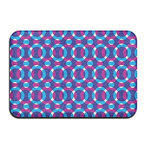 - Yuan Kun Space Galaxy Cat Doormat Anti-Slip House Garden Gate Carpet Door Mat Floor Pads
