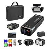 Flashpoint eVOLV 200 TTL Pocket Flash Kit Nikon Built-in R2 2.4GHz Radio Remote System (AD200 Pocket Flash)