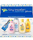 Johnson & Johnson Baby Take Along Travel Pack (Baby Powder, Wash, Shampoo, Lotion, Desitin) (Set of 2)