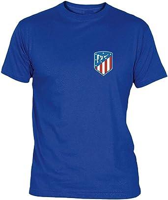 Camiseta Escudo Nuevo Adulto/niño Camisetas del Atleti Colchoneras ...