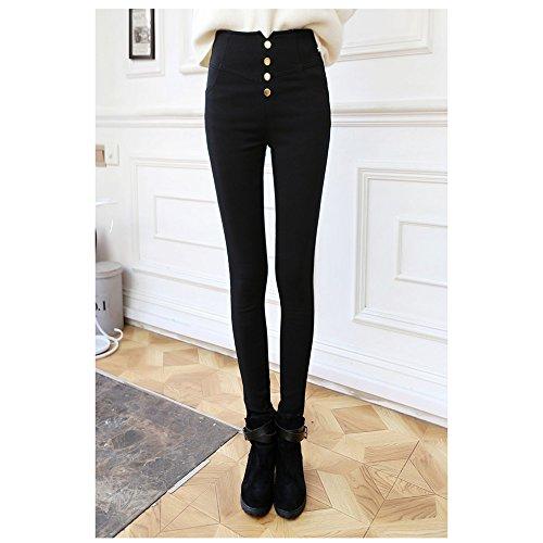 spritechtm-womens-fashion-slim-thickening-high-waist-tight-skinny-flocking-long-pants