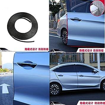 DishyKooker Protezioni dei Bordi delle Portiere delle Auto Forma a U Profilo dei Bordi Guarnizione di Protezione in Gomma Protezione della Striscia Misura per la Maggior Parte delle Auto 10 m