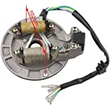 #7: X-PRO 2-Coil Magneto Stator for 70 cc 90CC 110 cc 125cc Kick Start Dirt Bikes Pit Bike SSR Coolster Roketa