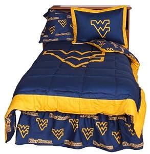 West Virginia Mountaineers Collegiate Queen Comforter Set