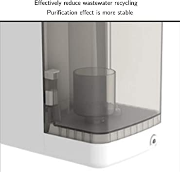 Purificador De Agua De Ósmosis Inversa Dispensador De Agua For El Hogar Agua De Grifo De La Cocina Calentando Un Dispensador De Agua (Color : Blanco, Size : 40.5 * 18.3 * 38.8cm): Amazon.es: Hogar