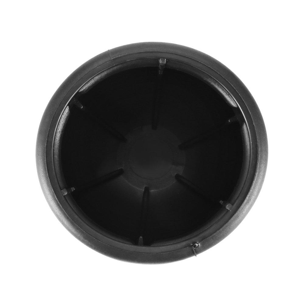 2 Pcs Protect Tow Bar Ball Case Car Hitch Trailer Vehicles Prenine 50mm Trailer Black Rubber Towball Cover Cap