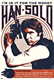 "Star Wars - Movie Poster / Print (Han Solo - Retro / Vintage Style - Quotes) (Size: 24"" x 36"") (By POSTER STOP ONLINE)"