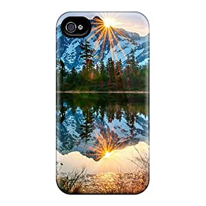 Premium Mount Baker Volcano Heavy-duty Protection Cases For Iphone 6