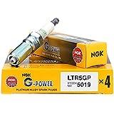 NGK (5019) LTR5GP G-Power Spark Plug, Pack of 1