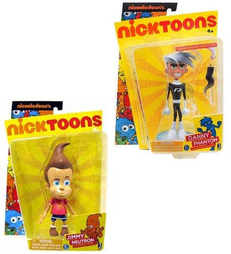 "Nicktoons 6"" Action Figure Set Of 2"
