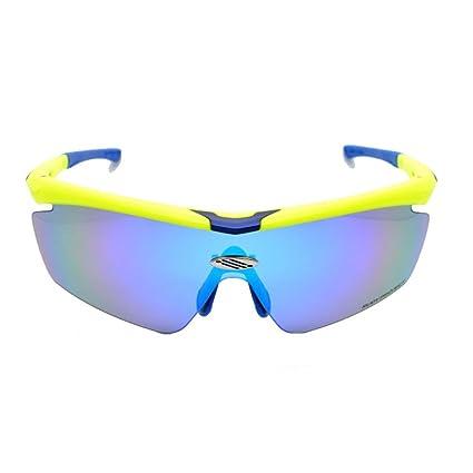 f982e7ed04 Gafas de sol polarizadas deportivas Gafas de montar Gafas de cambio de color  de la bicicleta Gafas de adulto al aire libre Adecuado para ...