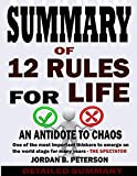 img - for Summary of 12 Rules For Life: An Antidote To Chaos By Jordan B Peterson book / textbook / text book
