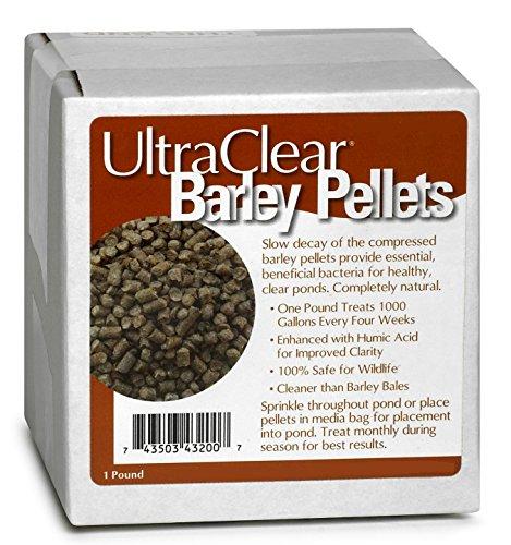 Ultra Clear Barley Straw Pellets 1 pound (Barley Straw Pellets)