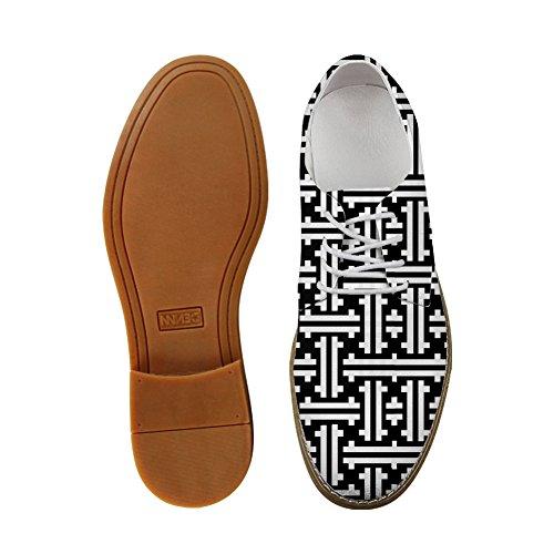Abbracci Idea Piante Verdi Modello Mens Casual Oxford Flats Lace Up Shoes Leaf 2