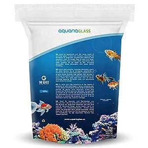 Aquariaglass Tropical White Arena técnica para acuarios, peceras y terrarios 5 kg Color Blanco