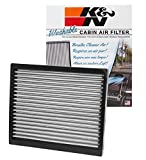 K&N VF2037 Washable & Reusable Cabin Air Filter Cleans and Freshens Incoming Air for your Kia, Hyundai
