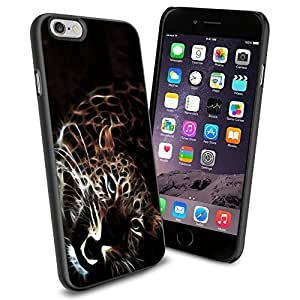 Animal Nature Leopard Cool iphone 5c Case Collector iPhone TPU Rubber Case Black