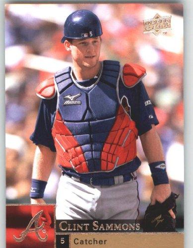 Upper Deck 2009 Baseball Card#519 Sammons Braves-Clint