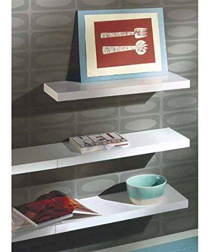 17 Inch Big Boy Shelf (Silver) (17.5''H x 2''W x 10''D) by Dolle (Image #1)